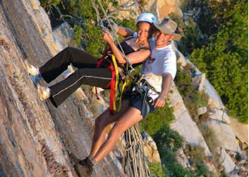 Abseiling and adventure activities